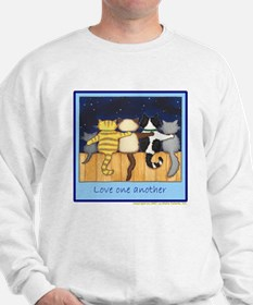 Love One Another - Cats / Kit Sweater