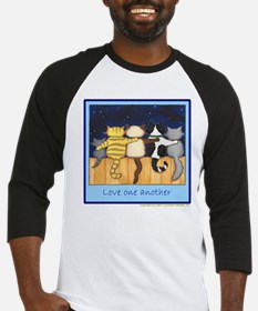 Love One Another - Cats / Kit Baseball Jersey