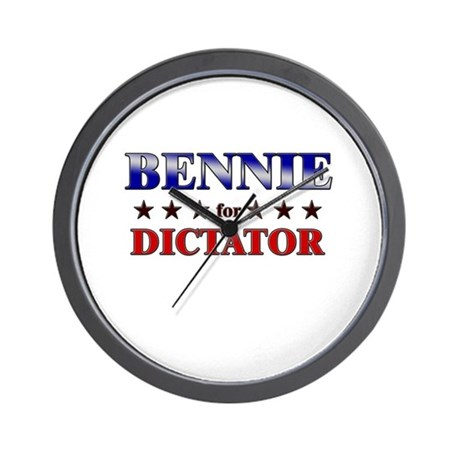 BENNIE for dictator Wall Clock