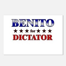BENITO for dictator Postcards (Package of 8)