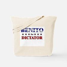 BENITO for dictator Tote Bag