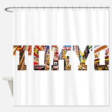 Cute Manga Shower Curtain