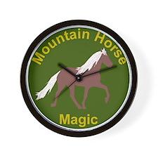 Mnt Horse Magic Wall Clock