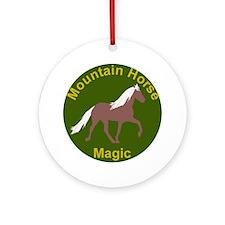 Mnt Horse Magic Ornament (Round)