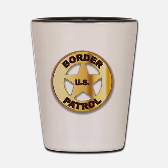Funny Law and order Shot Glass