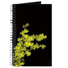 BAMBOO YELLOW ON BLACK Journal