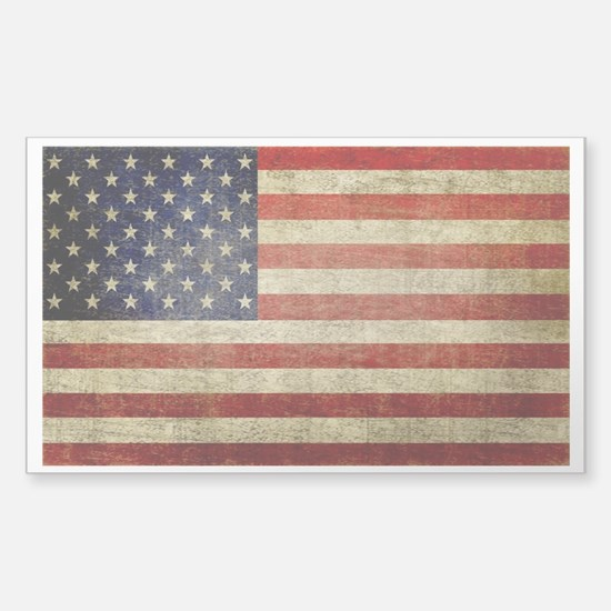 American Distress Flag 4th of July Decal