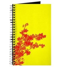 BAMBOO RED ON YELLOW Journal