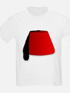 Cartoon Style Fez T-Shirt