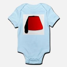Cartoon Style Fez Body Suit
