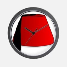 Cartoon Style Fez Wall Clock