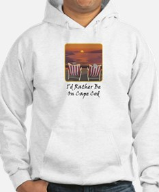 I'd Rather Be At Cape Cod Hoodie