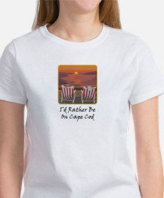 I'd Rather Be At Cape Cod Tee