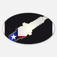 Texas Spark Plug Silhouettes Decal