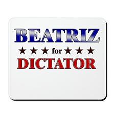 BEATRIZ for dictator Mousepad