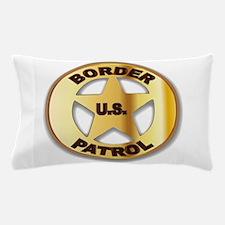 Border Patrol Badge Pillow Case