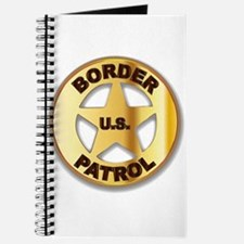 Border Patrol Badge Journal