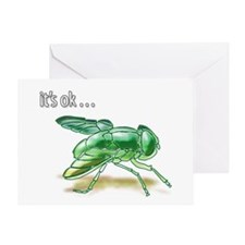 My Fly... Greeting Card