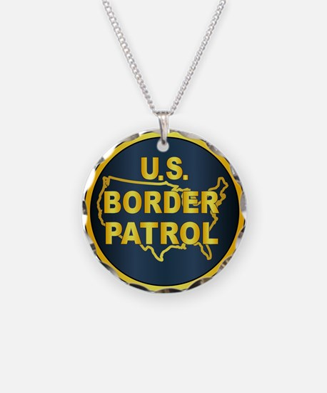 United States Border Control Necklace