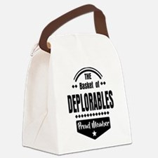 Proud Member of the Basket of Deplorables Canvas L