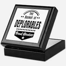 Proud Member of the Basket of Deplorables Keepsake