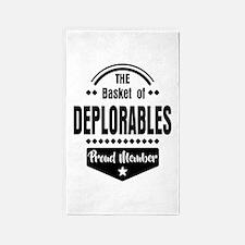 Proud Member of the Basket of Deplorables Area Rug