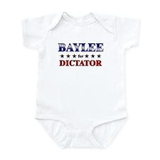 BAYLEE for dictator Infant Bodysuit