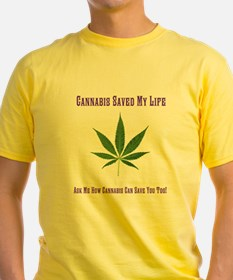 Cannabis Saved T-Shirt