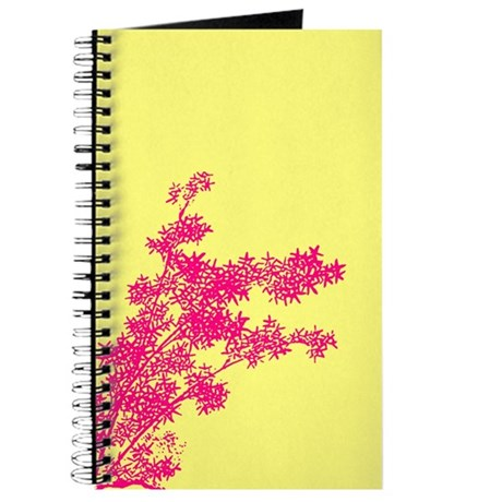 BAMBOO PINK ON YELLOW Journal