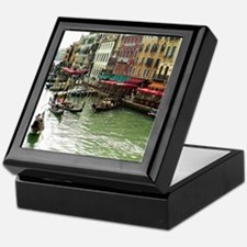 On the Grand Canal Tile Art  Gift Box,
