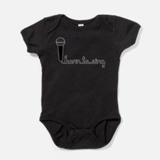 borntosing.png Baby Bodysuit