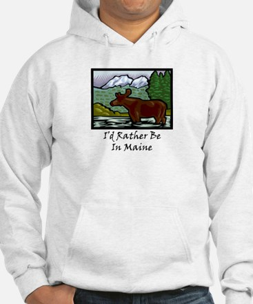 I'd Rather Be In Maine Jumper Hoody