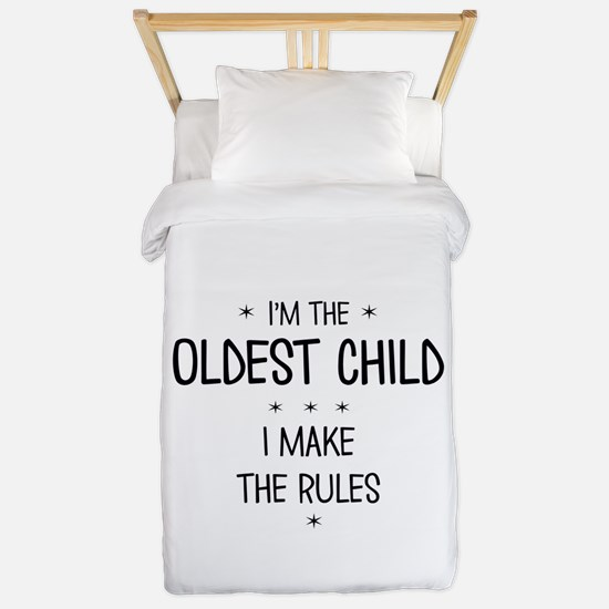 OLDEST CHILD 3 Twin Duvet