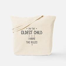 OLDEST CHILD 3 Tote Bag