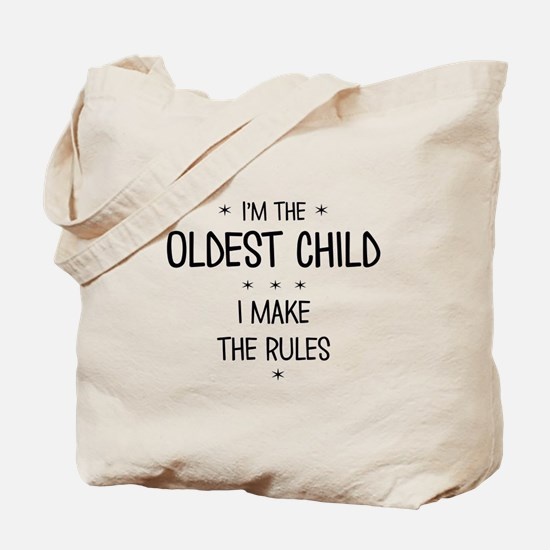 OLDEST CHILD 3 Tote Bag