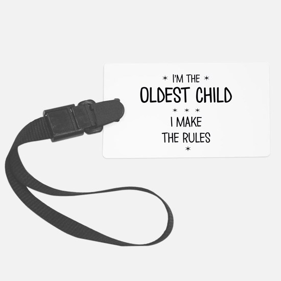 OLDEST CHILD 3 Luggage Tag
