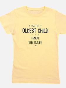 OLDEST CHILD 3 Girl's Tee