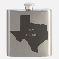 Texas My Home Flask