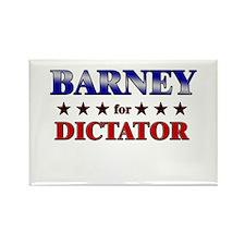 BARNEY for dictator Rectangle Magnet