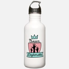 Queen Deplorable - Adorable Deplorable Water Bottl