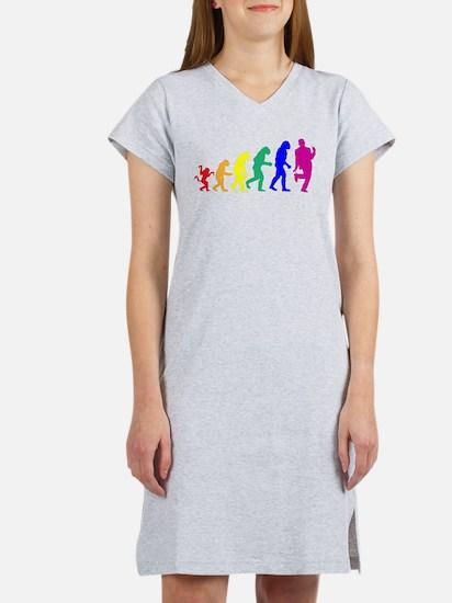 gayevolution.png Women's Nightshirt