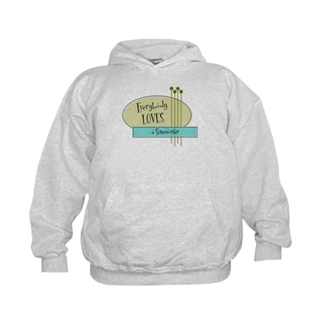 Everybody Loves a Screenwriter Kids Hoodie