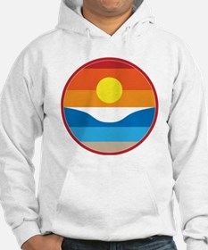 Horizon Sunset Illustration with Jumper Hoody