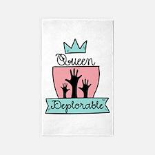 Queen Deplorable - Adorable Deplorable Area Rug