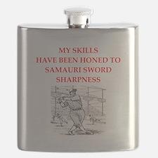 Baseball joke Flask