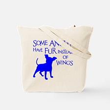 ANGEL DOG (both sides) Tote Bag
