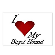 I Heart My Bagel Postcards (Package of 8)