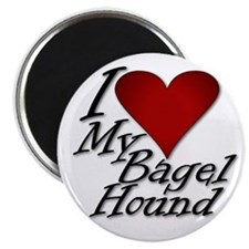 I Heart My Bagel Magnet