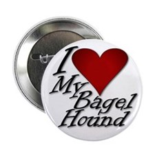 """I Heart My Bagel 2.25"""" Button"""