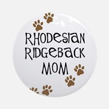 Ridgeback Mom Ornament (Round)